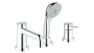 Grohe® Grifería BauClassic Grifería para bañera con duchador y pico codigo 25118000
