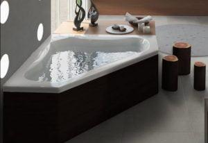 Bañera con hidromasaje Jacuzzi© Espree Corner 152x152x55