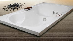 Bañera con hidromasaje Jacuzzi© Rialta 180×105