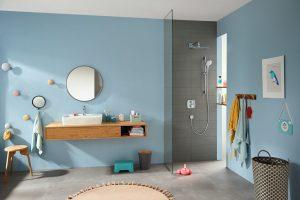 Hansgrohe Croma Select E  Set de ducha Multi con barra de ducha 65 cm codigo 26580400