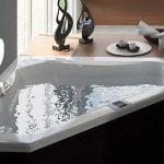 Bañera con hidromasaje Jacuzzi© Espree Corner 152x152x55 DIGITAL
