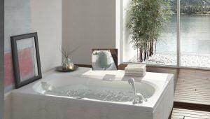 Bañera con hidromasaje Jacuzzi© Espree 183x107x51 DIGITAL