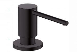 Hansgrohe Dispensador de jabón bajo A41, Negro Opaco código 40438670