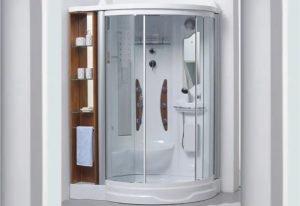 Box Cabina De Ducha Multifunción Aloha  Modelo 301 Premium con vapor